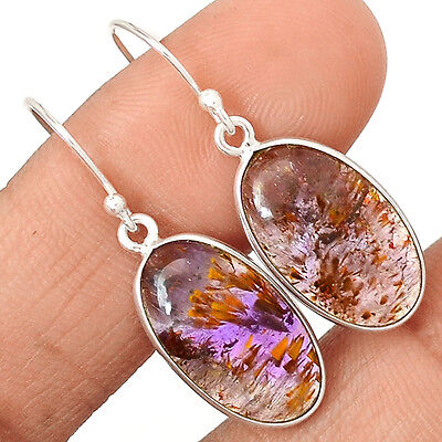 Cacoxenite Super Seven 7 Mineral, Melody Stone 925 Silver EE3394