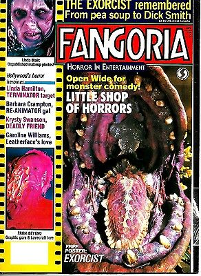 Fangoria Magazine #60 Ex  Condition