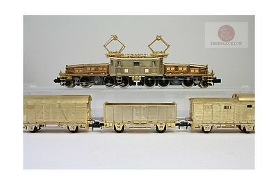 N 1:160 Arnold Set Locomotive + 3 vagons Special Edition, 250grams, escala gauge