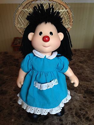 """VINTAGE BIG COMFY COUCH Plush Vinyl Molly Dolly 13"""" COMMONWEALTH"""