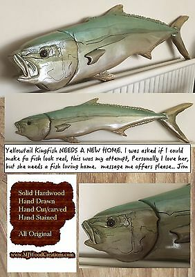 Carved fish,