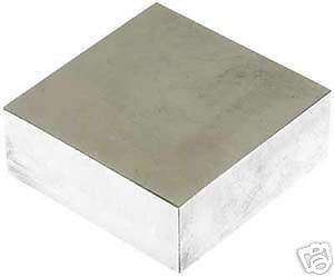 SOLID STEEL DOMING BENCH BLOCK ANVIL 60 x 60 x 20mm CRAFT TOOL
