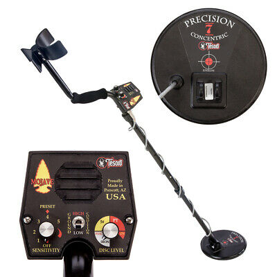 "Tesoro Mojave Metal Detector with New Precision 7"" Concentric Search Coil"