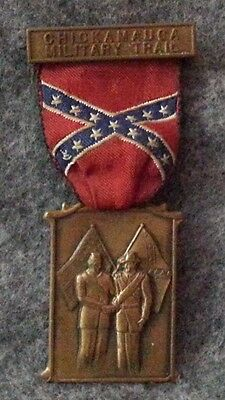 Chickamauga Military Trail Medal - Boy Scout Hiking Award - Union & Confederate