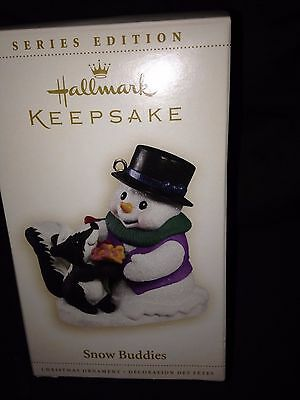 2006 Hallmark Ornament New in Box ~ Snow Buddies
