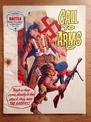 Battle Picture Library No 74 Call To Arms