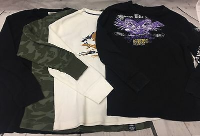 Boy's Thermal underwear Shirts Old Navy Beverly Hills Polo Lot of 4 size Medium
