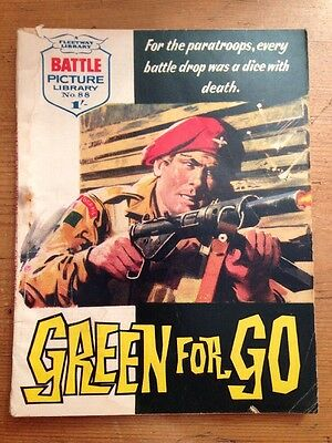 Battle Picture Library No88 Green For Go
