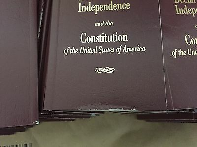 100 See Edges Pocket Size United States Declaration Independence Constitution US
