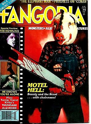 Fangoria Magazine #9  Ex Condition