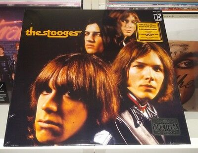 THE STOOGES - S/T (LP) Limited gold/brown vinyl