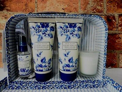 Laura Ashley Royal Bloom Ultimate Relaxation Collection Set New Tags Nov7