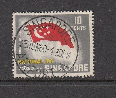 SINGAPORE STAMP WITH SINGAPORE AIRPORT - A CANCEL .Rfno.614.