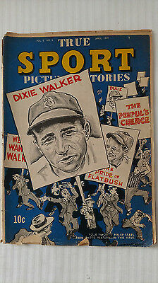 True Sports Picture Stories #5 (1944) - Low Grade Golden Age