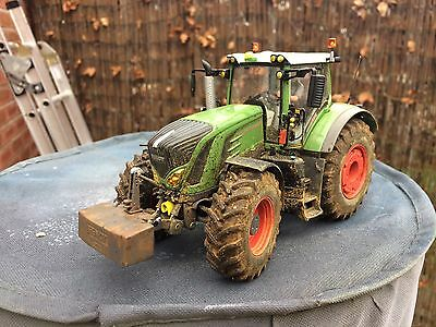 Wiking Fendt 939 1/32 Weathered Conversion Like Britains Boxed
