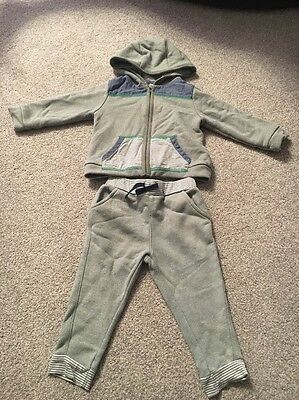 boys tracksuit Set Outfit Tops Joggers Age 9-12 Months