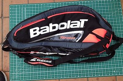 Babolat TEAM tennis bag six raquet VGC