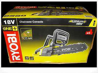 Ryobi 18v Drill  One+ chainsaw unit only newest model last onesq