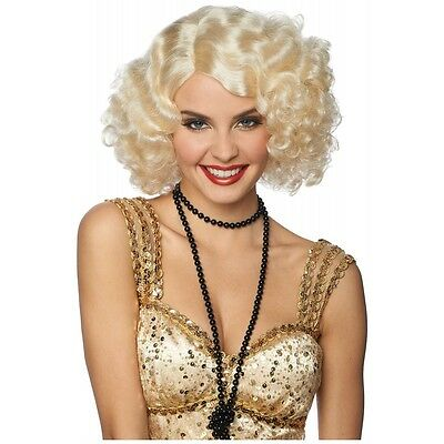 Broadway Flapper Wig Costume Accessory Adult Halloween