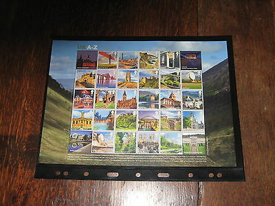 GB 2012 Sheet MS3308 UK A-Z Full Sheet - All 26 Stamps - Mint