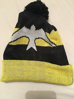 """Guy Martin Yellow and Black """"Head Gasket"""" bobble hat"""