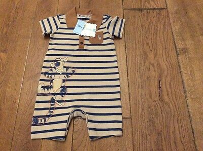 Tigger All-in-One 12-18 months BNWT