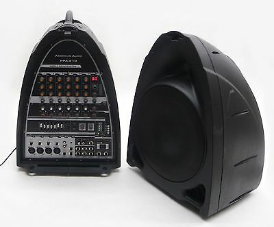American Audio Dj Ppa-210 All-In-One Portable Pa Audio Sound System 150W Mp3 A