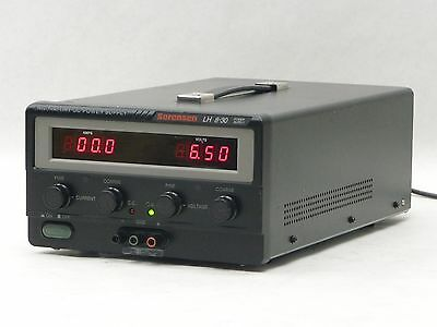 Sorensen Lh 8-30 Laboratory Programmable Variable  Dc Power Supply 720W 850Va