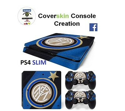 SKIN PS4 SLIM INTER Console COVER Protective Sticker controllers CONSOLE
