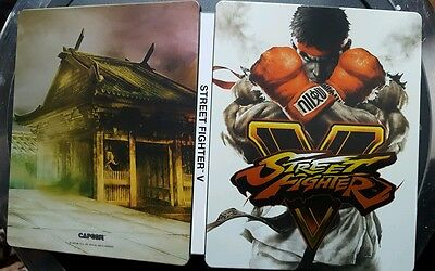 Street Fighter 5 Steel Book Case ONLY