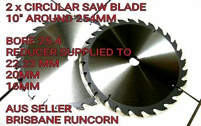"2 x 254mm (10"") X 25.4mm 28T  CIRCULAR SAW BLADE FOR WOOD CUTTING"