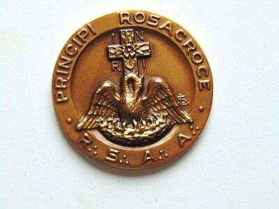18Th Masonic Bronze Medal, Rosicrucian (18Th Degree), National Convention, 1969,