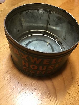 { Vintage }Maxwell House Coffee Tin Can