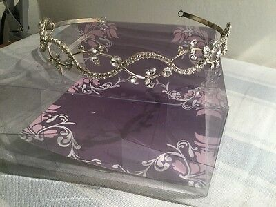 Gorgeous Bridal/party/costume Tiara. By Jon Richard. For Added Pieces Too Unworn