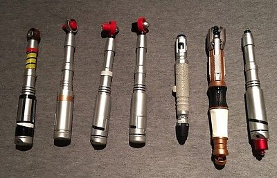 Set Of Doctor Who Sonic screwdrivers