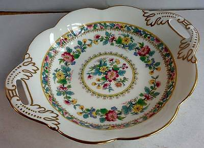 Coalport 'Ming Rose' China 2 Handled Dish Collectable/Decorative/Tableware