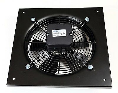 Commercial Extractor 250mm, Duct SUCTION Axial Fan, Kitchen Extract