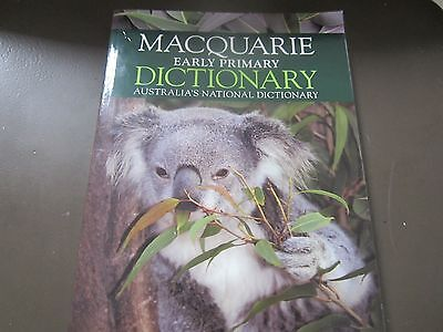Macquarie Early Primary Dictionary GREAT CONDition L@@K!!!
