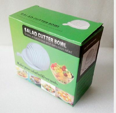 60 Second Salad Maker Healthy Fresh Salads Made Easy Salad Cutter Bowl Tools