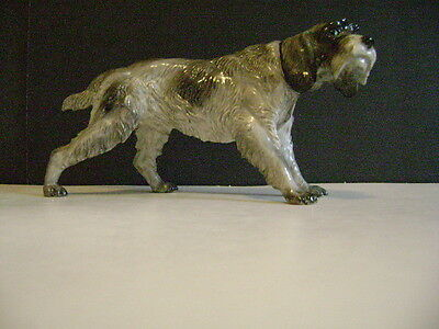 Vintage German Rosenthal Wirehair Pointing Griffon Dog Figurine- Porcelain