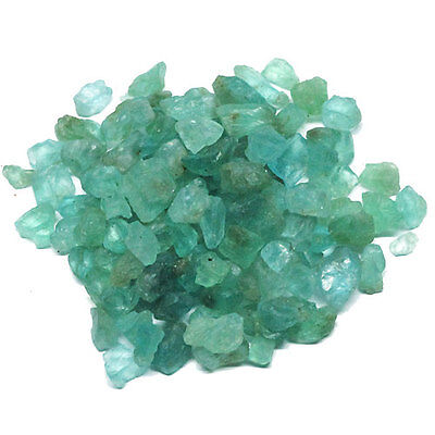 400.00 CT. Unheated ROUGH BLUE GREEN APATITE b459