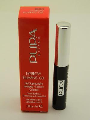 PUPA Eyebrow Plumping Thickening & Fixing Gel 001 Blonde - 7ml - Paraben Free