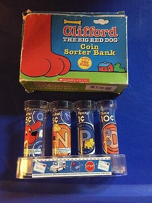 Clifford the Big Red Dog Coins Sorter Bank - New in Box