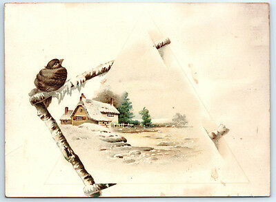 1800's Antique LION COFFEE Victorian Trade Card / WOOLSON SPICE Toledo Ohio