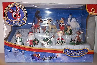 Forever Fun Rudolph Red Nosed Reindeer Ultimate Figurine Collection new sealed