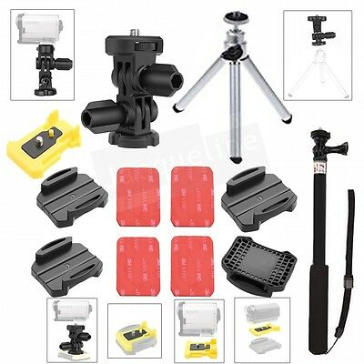 Monopod Accessories Mount Buckle Arm Kit for Sony Action Cam AS100V AS200V AS30V