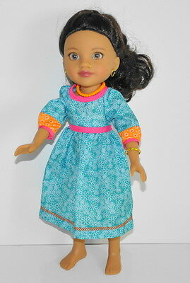"""Hearts for Hearts Surjan Nepal doll 14"""" Ethnic Nose Ring dress H4H 2010 G2G"""