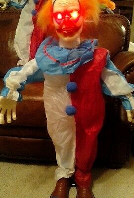 """""""Scary Harry"""", A 3 Foot Animated Circus Clown, Prop."""
