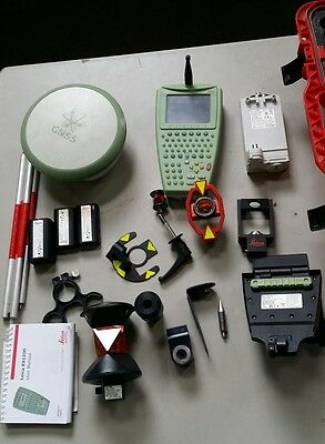 Leica 1200 system RX1250TC Colour Hand Control w/ATX1230+ GNSS  & accessories
