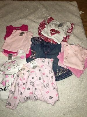Baby Girls Clothes (Bundle - 11 Items) 0-3 months/ 000